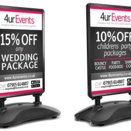 </br></br>4ur Events</br>A Boards &#038; Poster Designs
