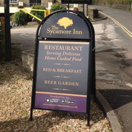 </br></br>The Sycamore Inn</br>A Board Design